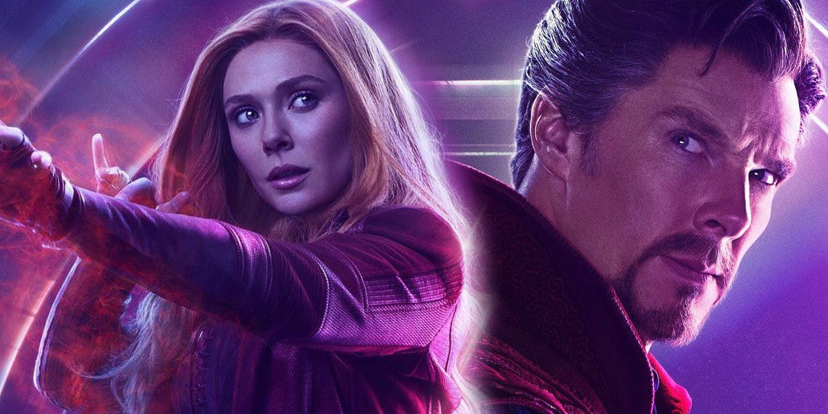 Elizabeth Olsen's Scarlet Witch will appear in Doctor Strange In The Multiverse Of Madness 🚨