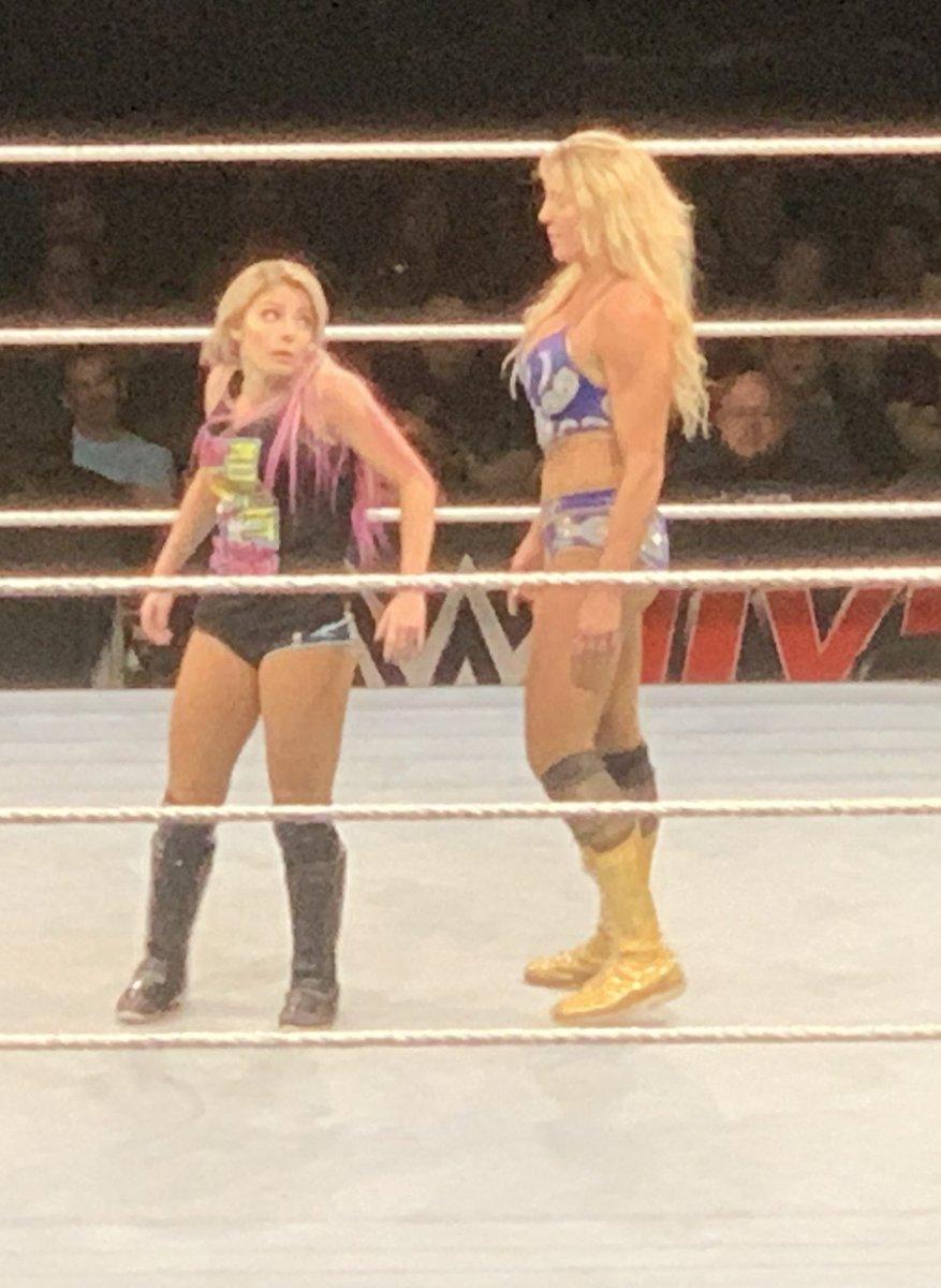 That face when you forgot @MsCharlotteWWE was in the match too. @itsBayleyWWE  @AlexaBliss_WWE  #wwe #wwecolumbus  #whooooooooooo<br>http://pic.twitter.com/qaZQ9I0brk
