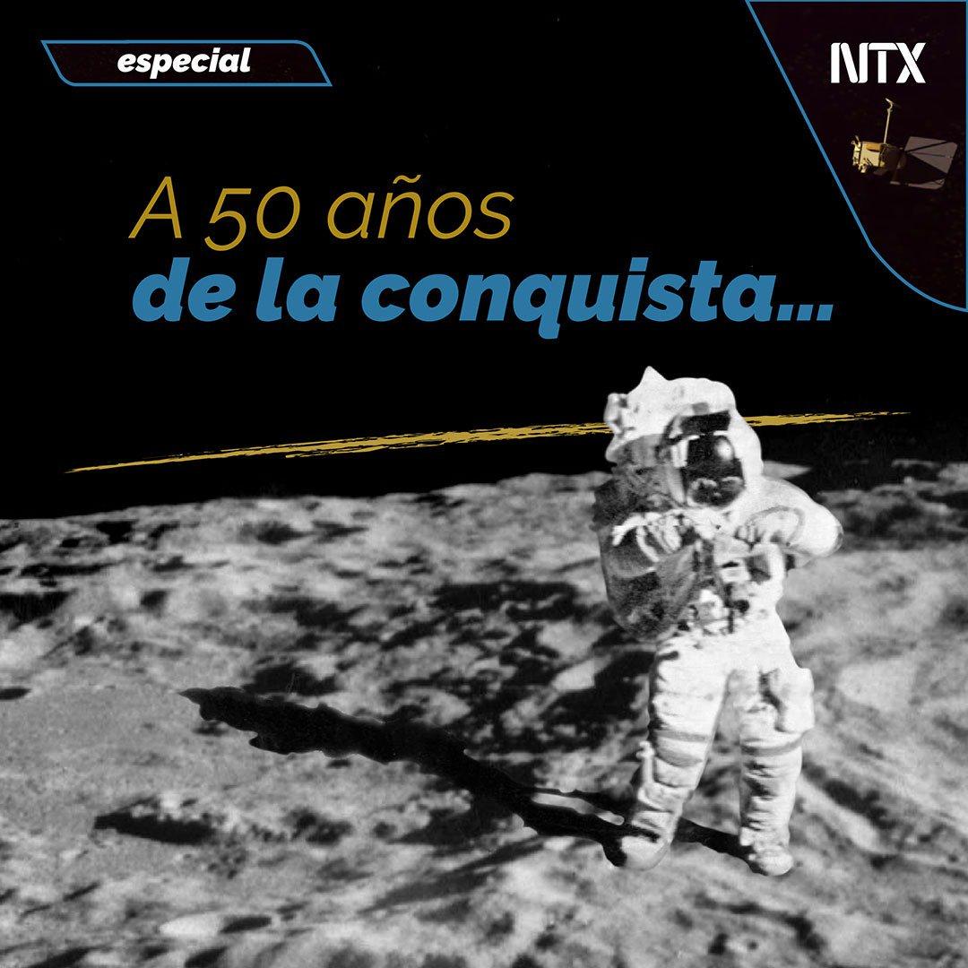 🔸#ESPECIAL   «A 50 años de la conquista…».➡http://ow.ly/smMn50v6Io4• #Notimex