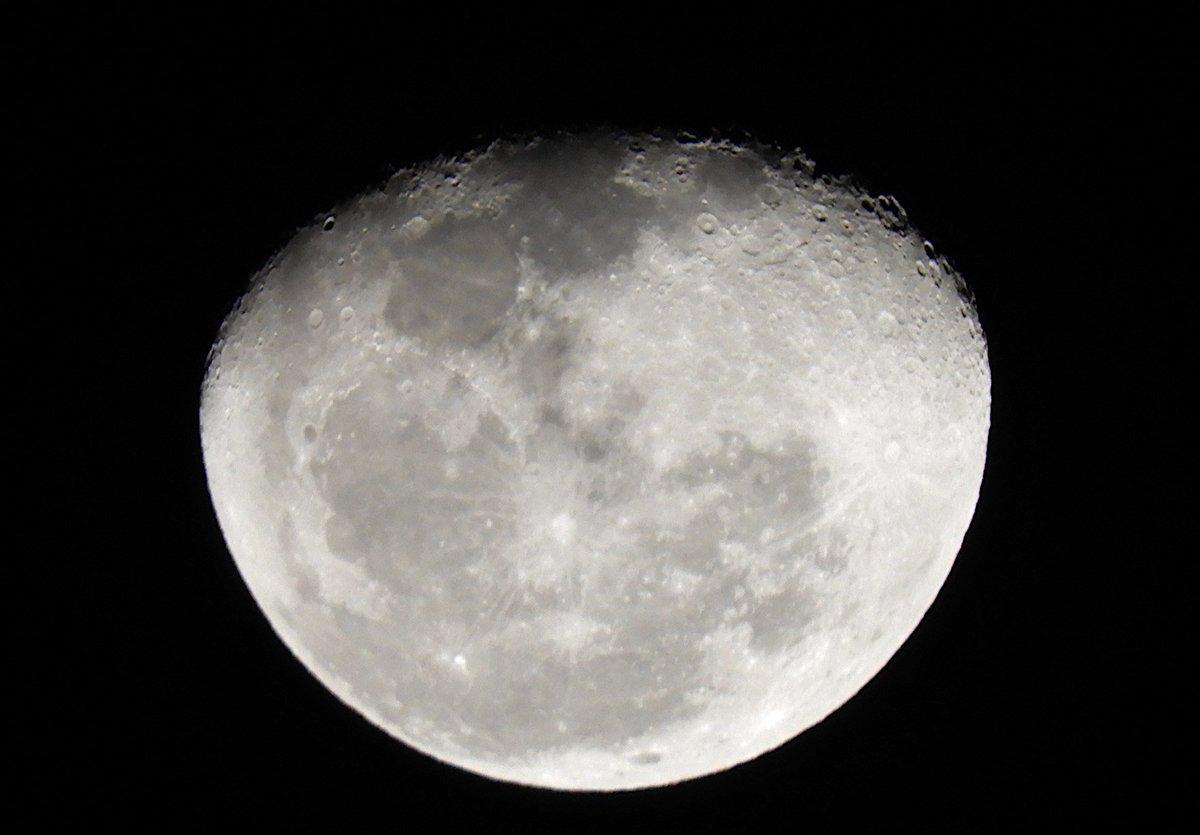 Essa é a Lua hoje em São Paulo #Sampa #SP 🇧🇷Há 50 anos o ser humano chegou à Lua. O futuro é a exploração de Marte, e se a humanidade não se autodestruir, podemos chegar às estrelas 🚀💫The Moon today in São Paulo, 50 years after humans walked on the Moon