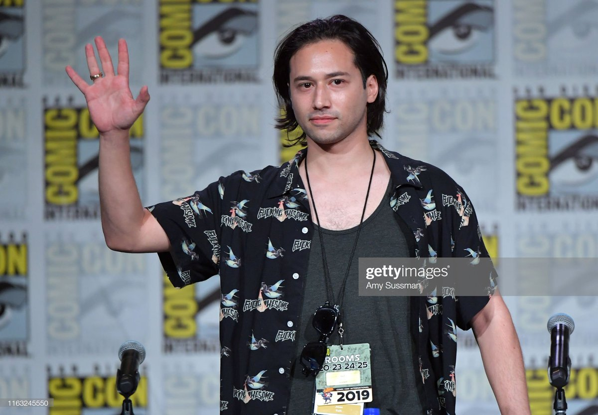 Jesse Rath at the Supergirl panel at SDCC.  @jesserath #Supergirl #Brainiac5 #Brainy #SDCC #SDCC2019