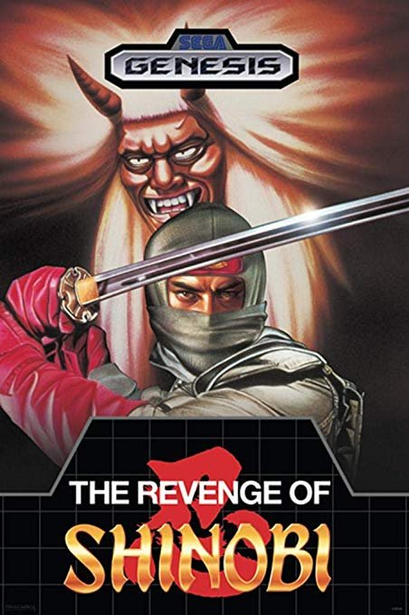 Once again its #SegaSaturday so I have decided to play as one of the greatest ninja's in #gaming.  The Revenge of Shinobi is one of the best titles on the #SegaGenesis.  For a classic side scrolling beat-em up this is a must play!  #RETROGAMING #retrogames