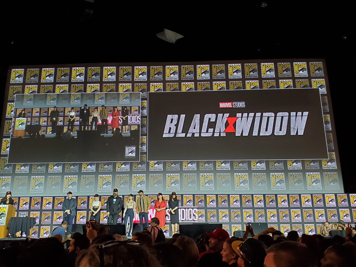 Image result for black widow Hall H