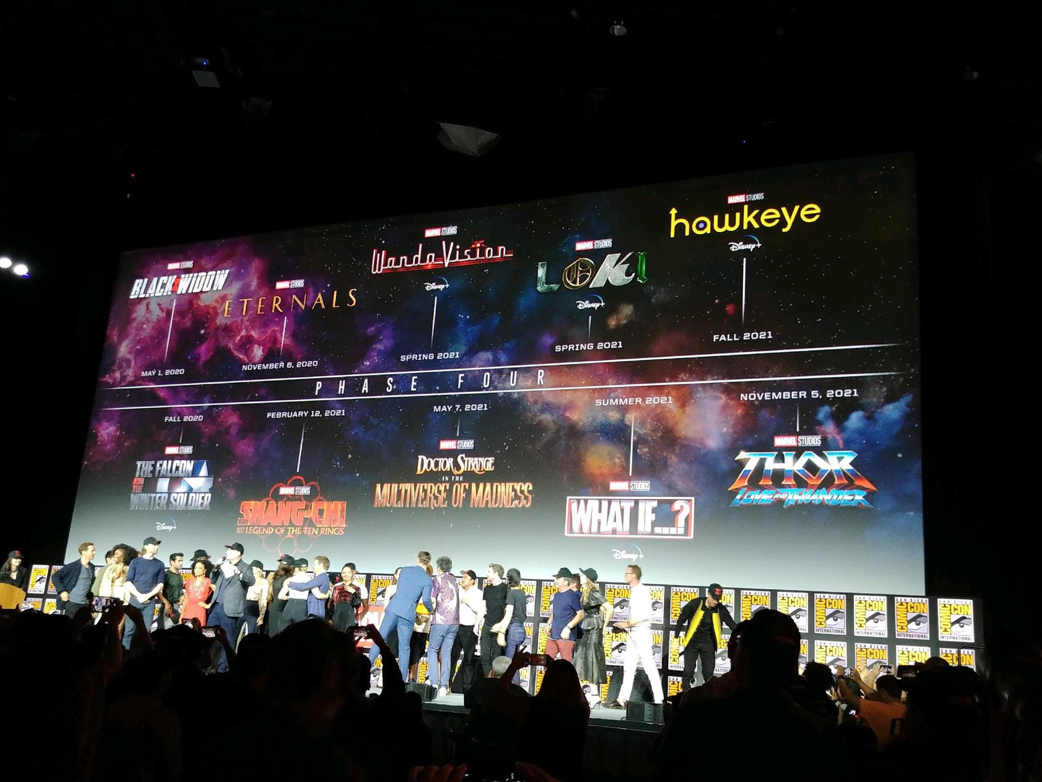 Marvels Roadmap für Phase 4 des MCU