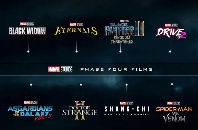 Good Phase 4 lineup. Some good surprises. Can't wait for Drive 2.<br>http://pic.twitter.com/29YkmvLK9C