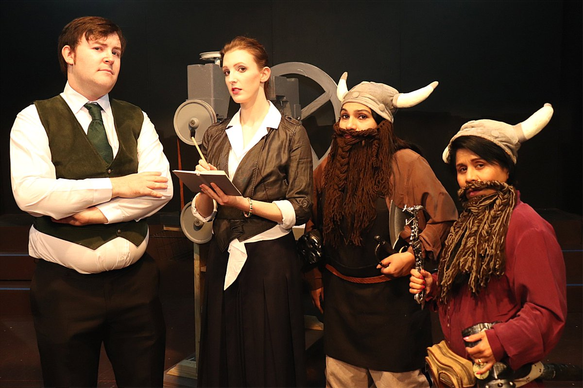 If you're a fan of #terrypratchett and #discworld, you catch THE TRUTH @2pm today! Head to the Roxy Lane Theatre, 55 Ninth Ave, Maylands – book at http://www.TAZTix.com.au  or call 9255 3336. Tix also@door! #perthnews #wanews #justanotherdayinWA #perth
