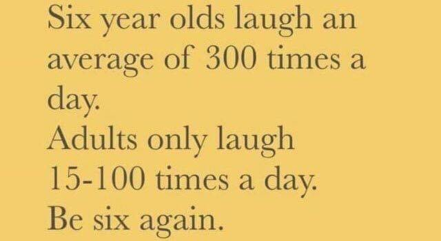 Right⁉️ I'm going to work on #laughing more 😂