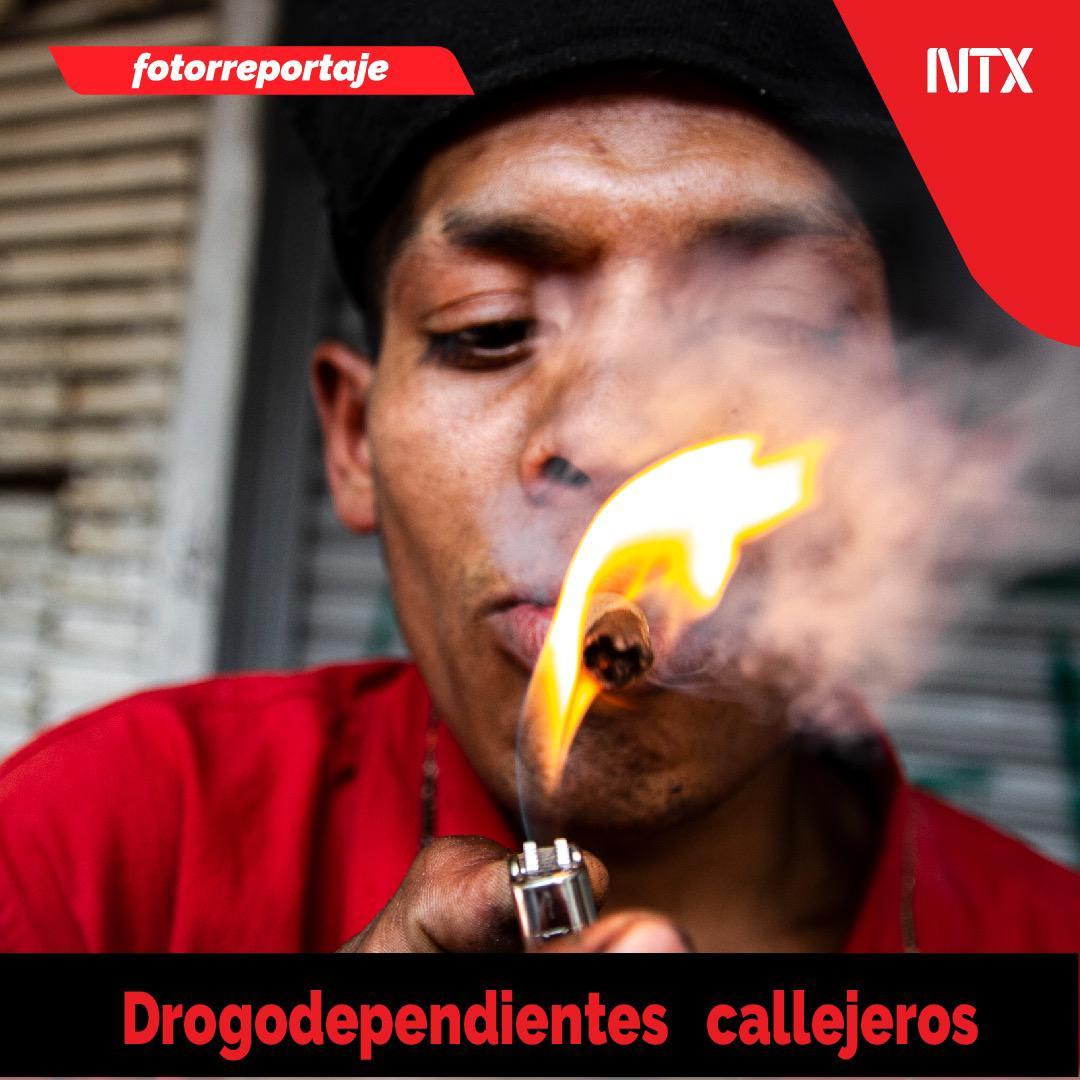 🔸#FOTORREPORTAJE   «Drogodependientes callejeros».➡http://ow.ly/jnAr50v6Ooq• #Notimex