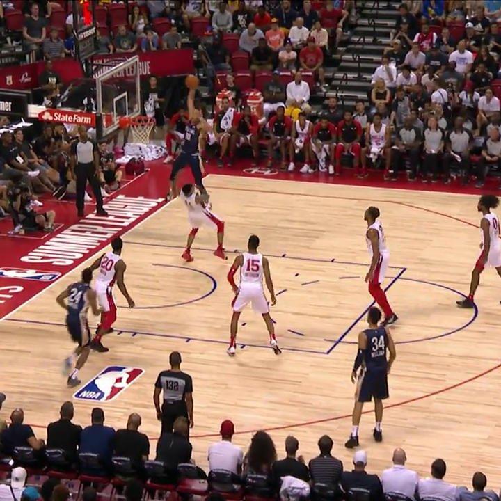 JAXSON HAYES JUST SHITTED ON THIS MAN 🤯😳😱 (via @NBATV)