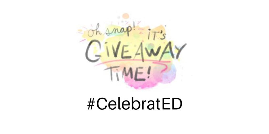 Who's ready for another #CelebratED Giveaway?!? 🎉🥳🎉