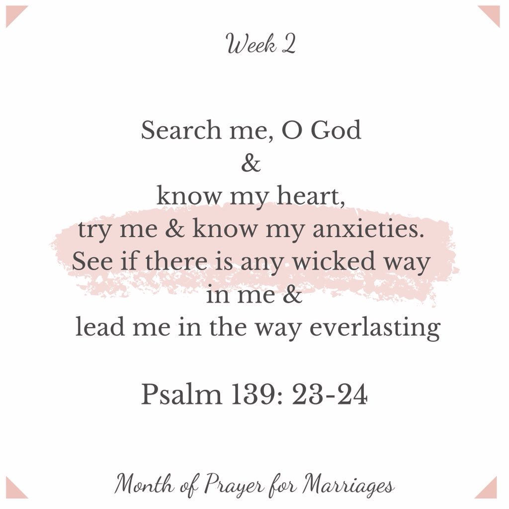 Week 2, Day 2: Keep on praying for the condition of your