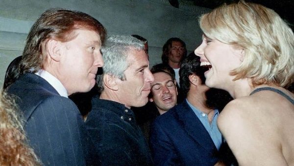 Image result for epstein and trump pics