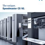 Image for the Tweet beginning: The #Speedmaster CS 92 is
