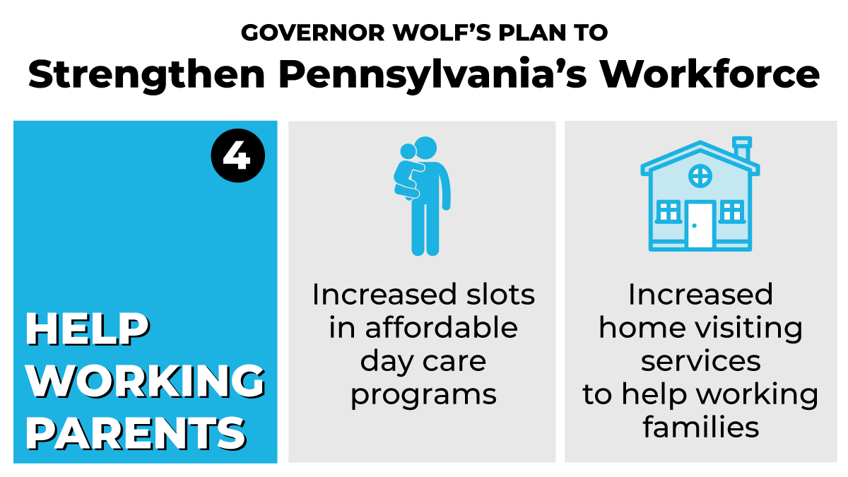 4️⃣ We're going to better support working parents so they can provide for their families.