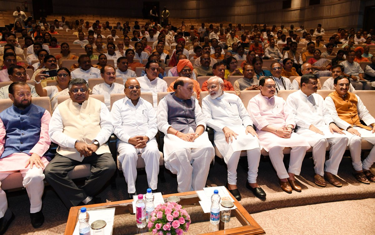 Glimpses from the @BJP4India Parliamentary Party meeting, where we discussed a wide range of issues.