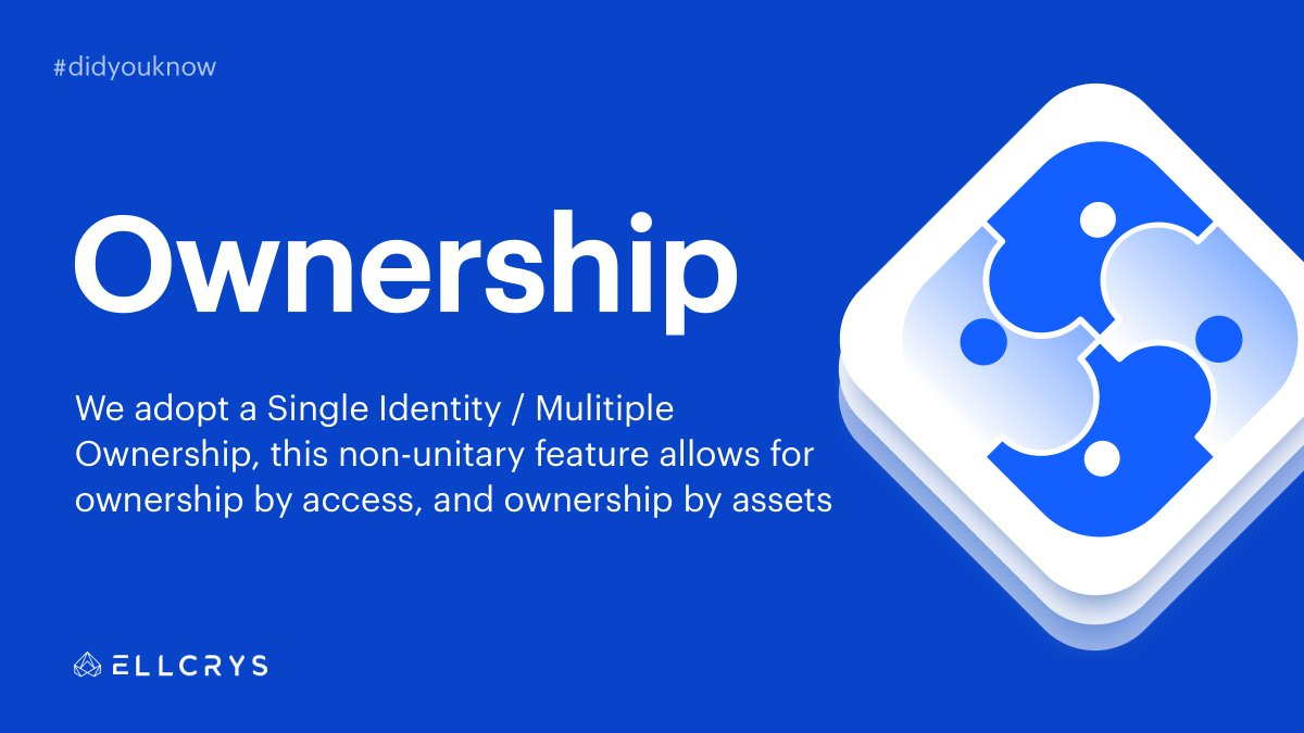 Collaborators will be able to interact with other centralized or decentralized entities under a shared identity that is governed collectively. learn more 👉 https://ellcrys.co/motivation  #ellcrys
