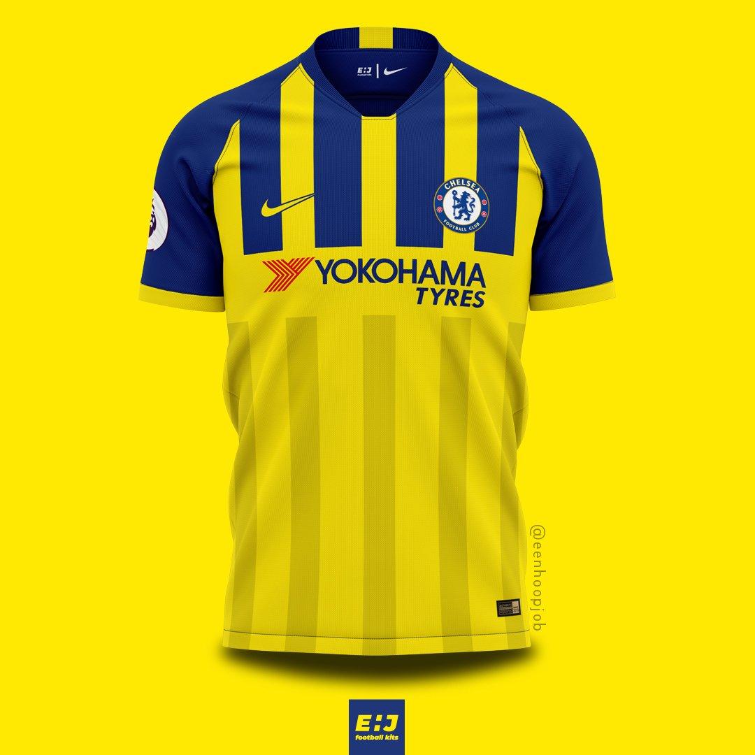 new style 9f518 9fc0f Job - Eenhoopjob Football Kit Designs on Twitter: