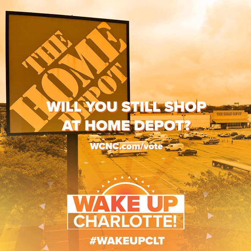 Shoppers are threatening to boycott Home Depot after one of the company's founders said he will support President Trump's re-election campaign.   Will you continue to shop at Home Depot? #WakeUpCLT   TELL US: http://bit.ly/2GN1iKm