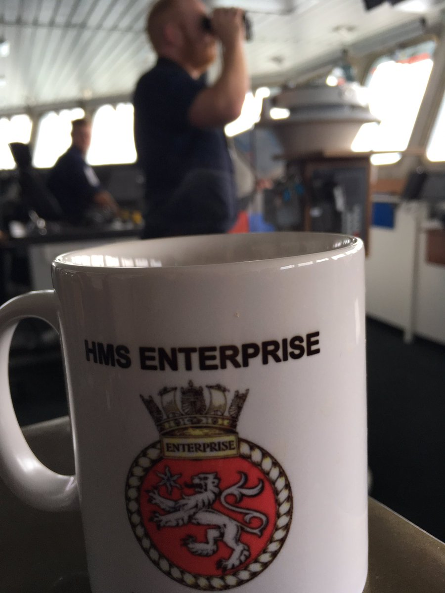 #CaptainsLog we're back at sea after our short pit stop in @HMNBPortsmouth. This time it's off to train our future #navigators from @HMS_Collingwood as we whizz around the south coast. #BoldlyGo @PortsmouthProud