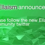 Image for the Tweet beginning: 📢Team #Ellaism launched a new