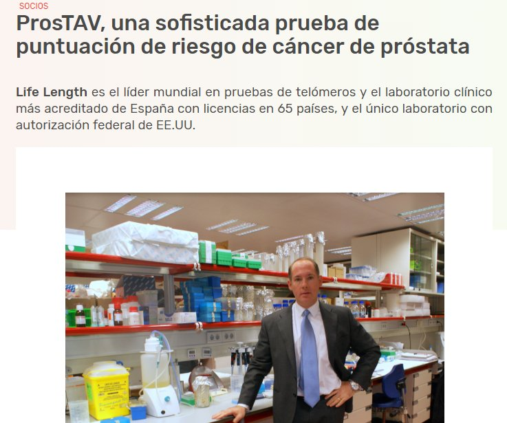 🗣️@LifeLength lanza #crowdfunding para su innovadora prueba de detección de #cáncerdepróstata ProsTAV 🧐Más información vía @asebio https://bit.ly/2L854Ct 👉💸https://bit.ly/30rxwD3 ¡Orgullo #SonPCM! #LosParquesAportan #IncúbateFPCM