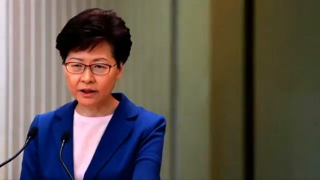 Hong Kong leader Carrie Lam says the extradition bill that sparked the territory's biggest political crisis in decades is 'dead'. More here: https://reut.rs/2NGASjT