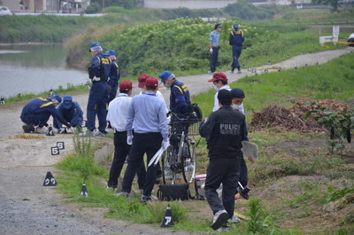 【殺人事件】福岡県粕屋町の須恵川で殺人事件 現場の画像 ...