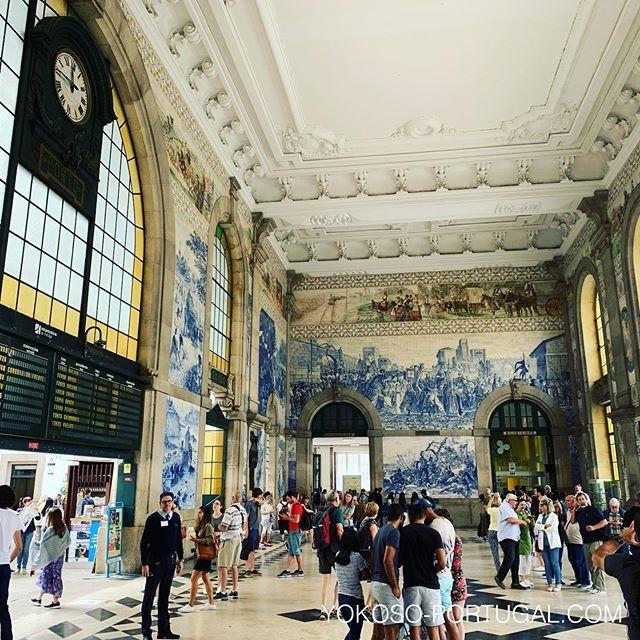 test ツイッターメディア - うっとりするほど美しい、1900年に建てられた、ポルトのサン・ベント駅。 #ポルト #ポルトガル https://t.co/Bpra34LzUT