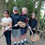Pond dipping is great fun!!!