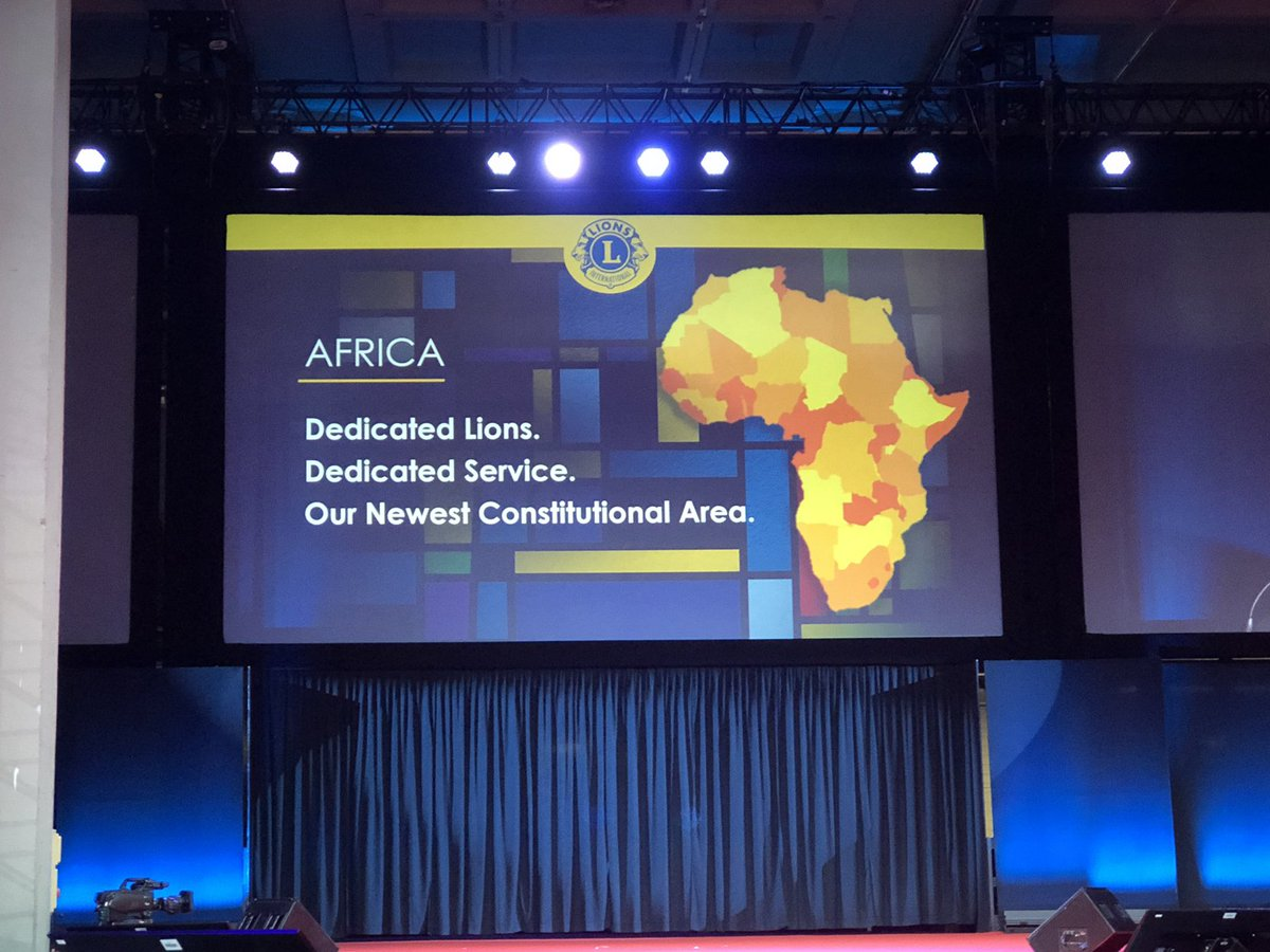 test Twitter Media - Lions make history at #LCICon2019! Today, we celebrate the establishment of a new Constitutional Area: AFRICA! 🦁🌍👏 https://t.co/WwvQ6F7bvG