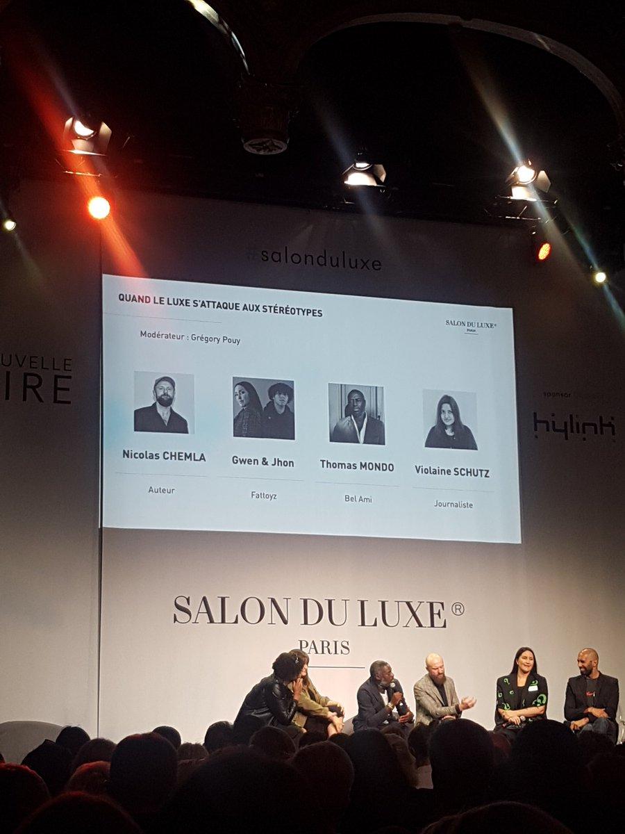 """""""Le luxe n'est pas là pour faire du nice, mais pour faire du sublime."""" Nicolas Chemla @salonduluxe #salonduluxe"""