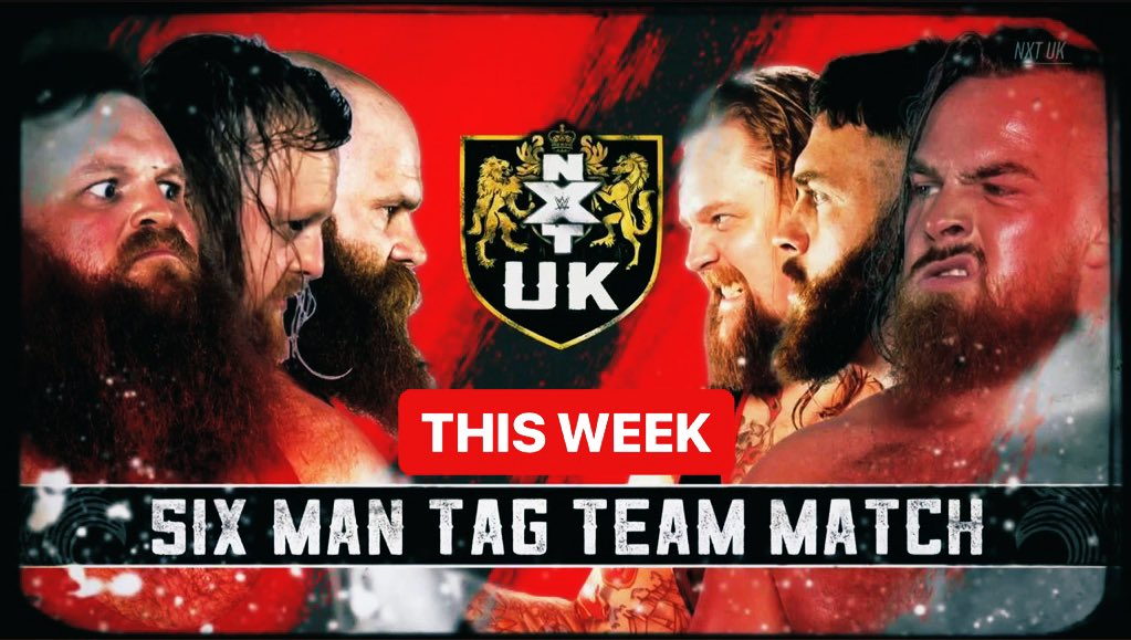 This week on @NXTUK MastiffPrimateBoarvGallus🇬🇧 time 8PM on @WWENetwork