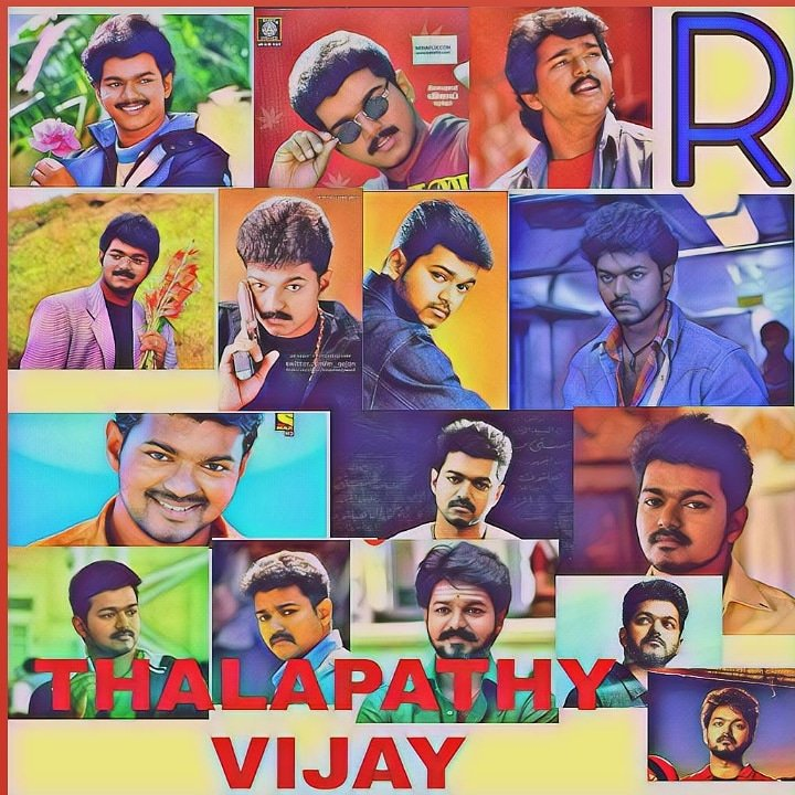 My EDIT of THALAPATHY from 1992-2019