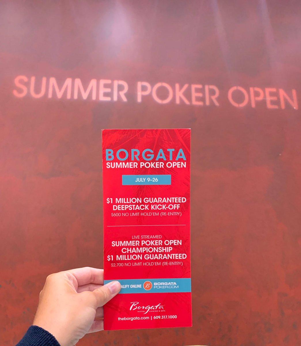 Summer Poker Open starts NOW! summerpokeropen.blog.theborgata.com
