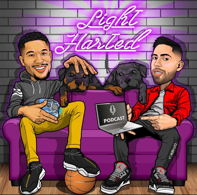 LightHarted Podcast with @joshhart #Pelicans   Episode 2   Ibrahim Hamad (#Dreamville)     #LightHarted #NBA #NBATwitter #NBPA #NBAPodGod  Watch here 📺: https://www.youtube.com/watch?v=H-KRq93H9oM…