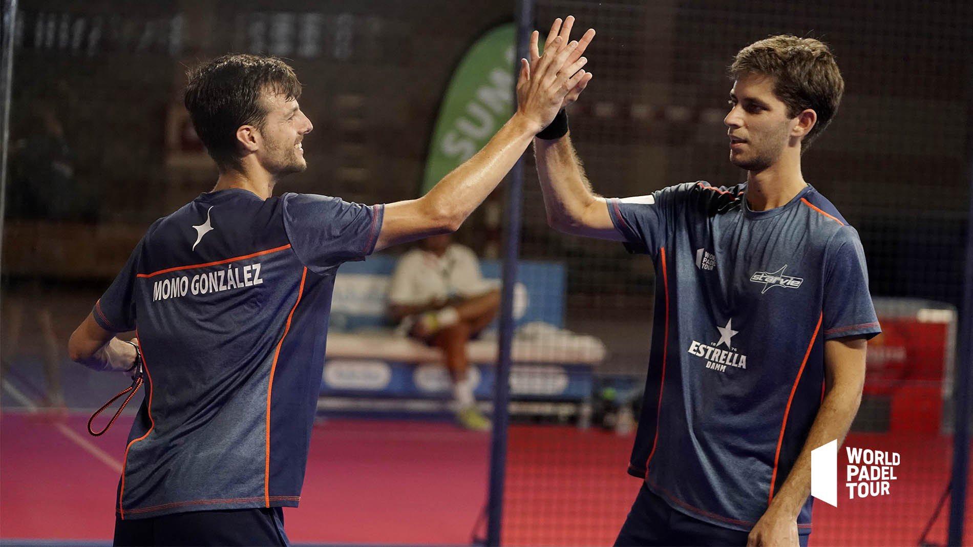 Maty Marina y Momo González siguen su buena racha y también estarán en el cuadro del Valencia Open