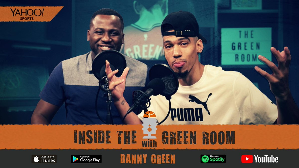 Inside The Green Room w/ Danny Green @DGreen_14 @GreenRoomInside #Lakers   Free Agency Special: Deals, discussions and Danny's future   #NBAFreeAgency   #InsideTheGreenRoom #NBA #NBATwitter #NBPA #NBAPodGod   Listen here 🎧: https://www.podbean.com/ew/dir-fziz8-6717ac0…