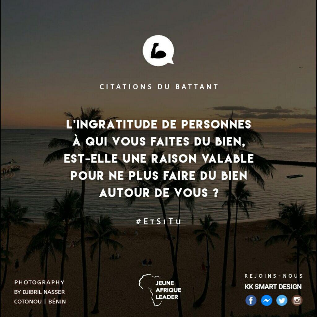 Citations Du Battant On Twitter The Ingratitude Of The