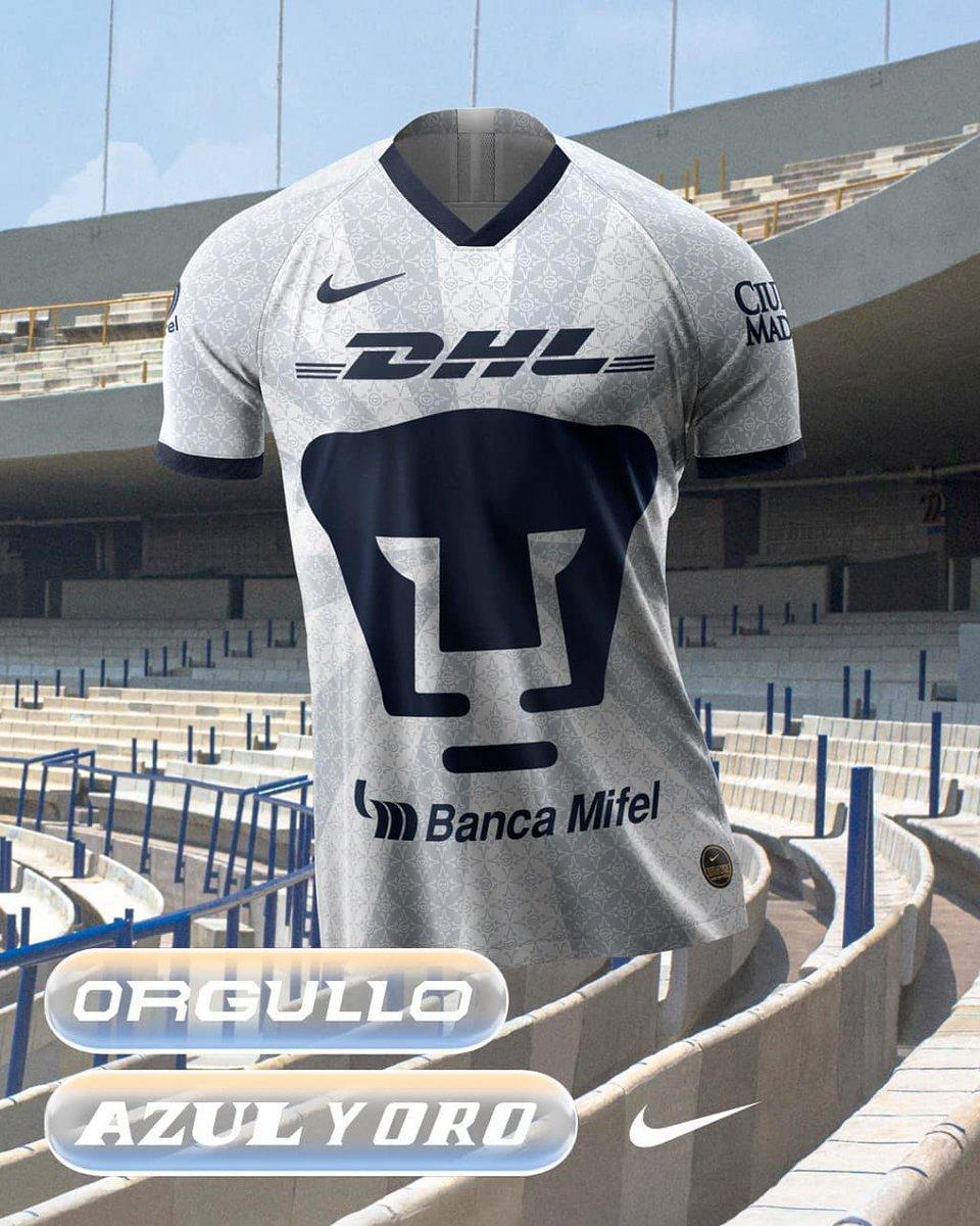 pretty nice 9fc7a 6b021 Pumas presenta su jersey para el Apertura 2019 - Futbol Total