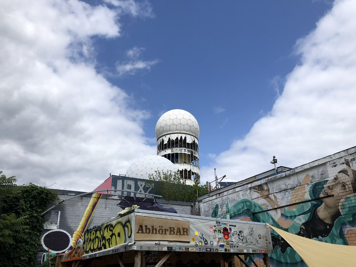 test Twitter Media - Really amazing place to learn about #surveillance power during cold war. #NSA field station #Berlin #Teufelsberg https://t.co/qm9vMIvtX6