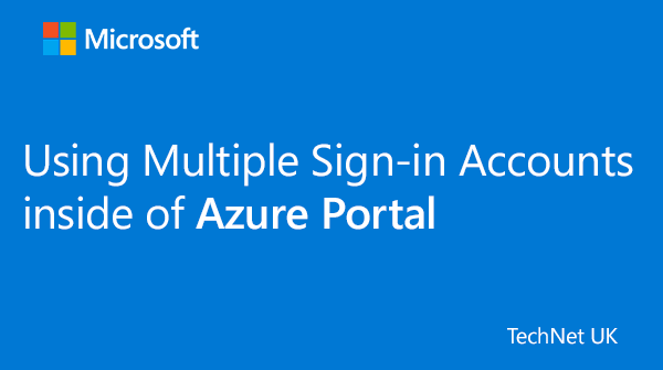 test Twitter Media - RT @TechNetUK: How to use Multiple Sign-in Accounts inside of Azure Portal: https://t.co/K3s8D4peUc  #ITPro #ITOps https://t.co/jre3xI3rlF