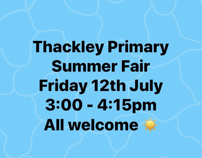 Welcome to Thackley Primary School