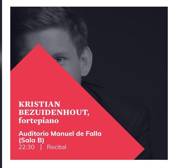 Esta noche el @AuditorioMFalla acoge el concierto del @FestivalGranada de #KristianBezuidenhout