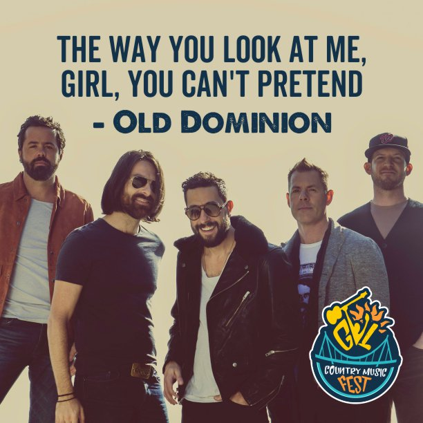 Is everyone else just as excited for @OldDominion as we are? Only 53 days left! Tickets on sale here: http://gvlfest.com ! #gvlfest2019 #greenvillecountrymusicfest #countrymusic #olddominion #gythnation #greenvillesc #johngurney #filmore #lanco #fluorfield