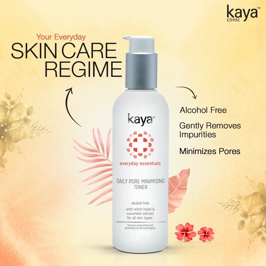 Enlarged pores are the number one reason why your skin looks greasy. Say hello to Kaya's Daily Pore Minimizing Toner– one of our most loved products. It'll help shrink your pores and refresh your skin. Use it after cleansing and before moisturizing to keep your skin happy, always https://t.co/RpTfAgPF0S