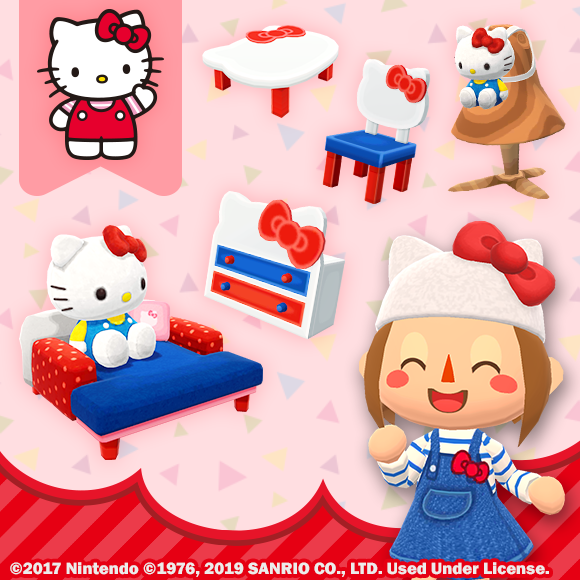 The Sanrio Characters Collection is a three-part event. Collection #1 will celebrate Hello Kitty and Cinnamoroll, with fortune cookies, wallpapers, backpacks, and more!