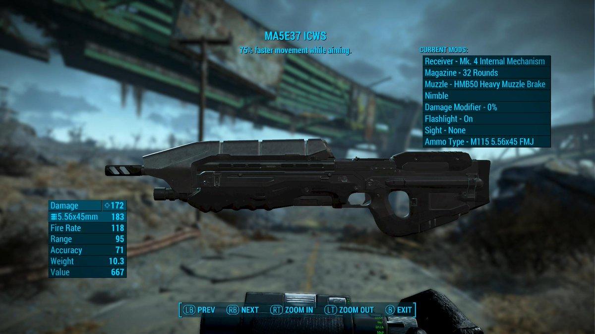 Fallout 4 Weapon Flashlight