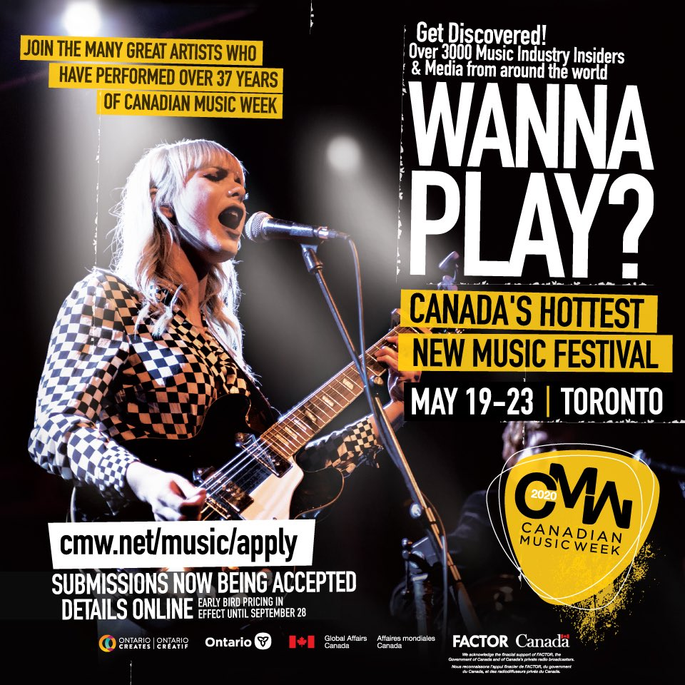 Canadian Music Week (@CMW_Week) | Twitter