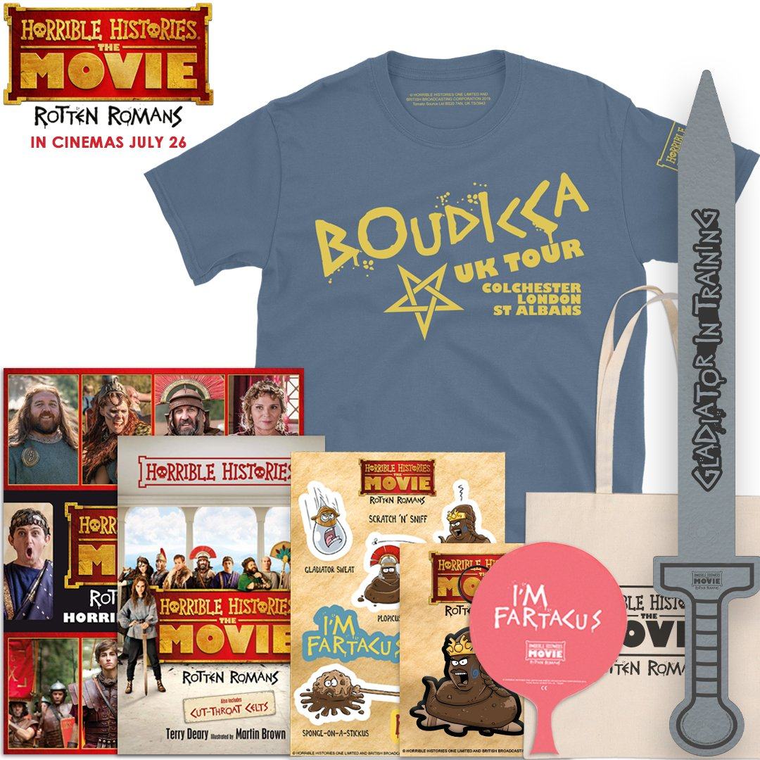 Whos ready for a horrible #competition? RT and follow for the chance to #win a suitably rotten #HorribleHistoriesTheMovie goody bag! See the film in cinemas Friday! T&Cs: bit.ly/HHTsCsTw2