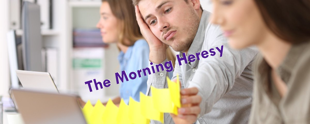 Everyone Else is Expendable - Your disposable blog, The Morning Heresy for July 9, 2019 https://centerforinquiry.org/blog/everyone-else-is-expendable/ …